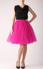 Fuchsia Tulle Tutu Skirt Dress
