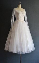 Tallulah 50S Wedding Vintage Wedding Dress