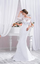 Sweetheart Tulle Lace Satin Weddig Dress