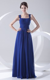 High Low Sweetheart Chiffon A Line Dress With Halter And