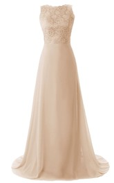 Elegant Court Train With Lace Trim and Bodice