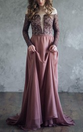 Brown Evening Florence Organic Wedding Brown Evening Gown Dress