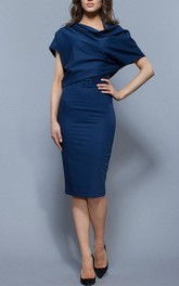 Elegant Oversized Dress Knee-length