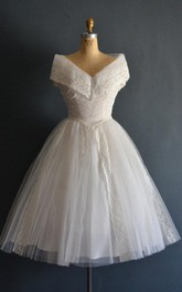 Valenti 50S Wedding Short Wedding Dress