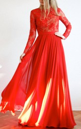 Red Maxi Open Back Lace And Evening Ball Prom Wedding Gown Dress