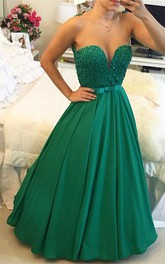 Gorgeous Sleeveless Evening Dress 2018 Beadings Sweetheart