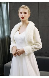 Elegant Long Sleeve Jacket For Weddings And Parties