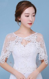 New Bridal Lace Diamond Shoulder Spring Summer Arm Shawl Shawl