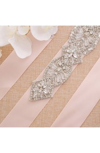 Bridal Crystal Appliqued Belt