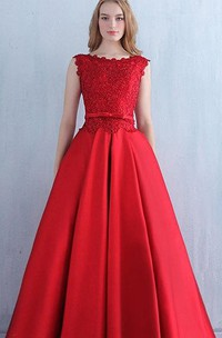 Red Lace Vintage Prom Evening Lace Bridesmaid Bridal Gown Evening Long Dress
