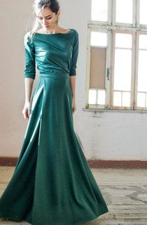 Long Dress With Split Front&Split