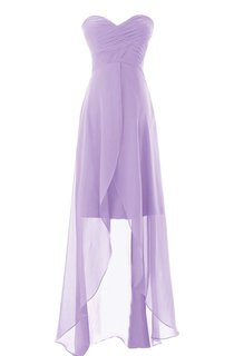 Graceful Sweetheart Ruched A-line Dress With Wrapping