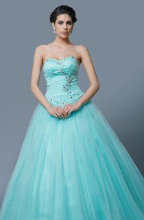 Sweetheart Neckline Beautiful Gown for Pageant