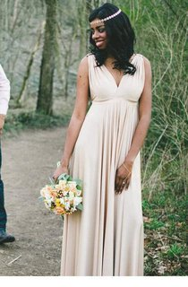 Rustic Boho Chic?Floor-length Dress