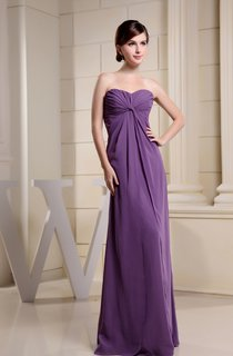 Ruched Sweetheart A-Line Floor-Length Dress with Detachable Scalloped Jacket