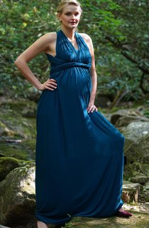 The Lauren Infinity Gown Jersey Maternity Pregnancy Photography Prop Gown Photographer Olive Green Women Versatile Dress