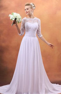 Draping Soft Flowing Fabric Sweetheart Sleeveless Gown With Brush Train