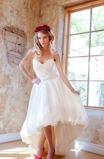 Bubble Hem Wedding Hello Dolly Weddig Dress
