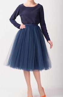 Tulle Tutu Skirts Tea Length Dress