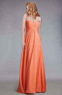 Sweetheart Empire Chiffon Bridesmaid Dress