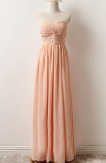 Strapped Chiffon&Lace Dress With Lace-up Back