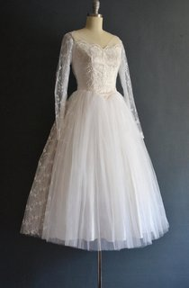 Tallulah 50S Wedding Vintage Wedding Dress