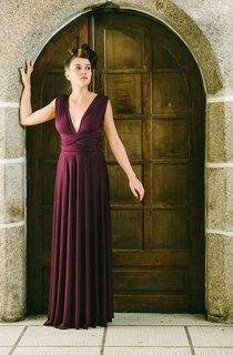 Marsala Maxi Infinity Dress