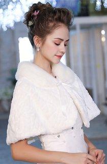 Bridal Wedding Shawl Wedding White Lace Cape Shawl