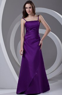 spaghetti-strap a-line gown with corset back and beading