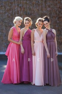 Newest A-line Sleeveless 2016 Bridesmaid Dress Floor-length High Quality