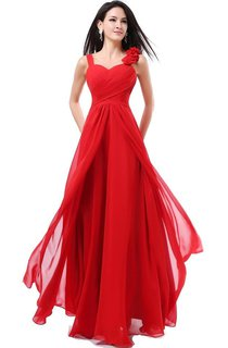 Sleeveless Dress With Ruching and Tulle Overlay