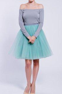 Off-the-shoulder Jersey Dress