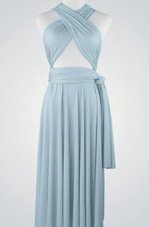 Sleeveless Ruched Dress With Cross Straps and Sash