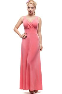 Bridesmaid Pink Maxi Dress