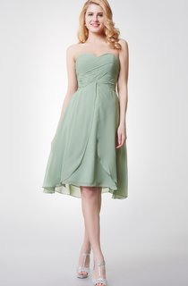 Sweetheart A-Line Knee Length Bridesmaid Dress