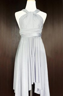 Convertible Short Pleated Dress