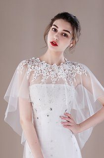 Bridal Shawl Korean Wedding Shawl Spring and Summer Thin Section Cloak Lace Shawl