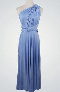 Short Bridesmaid Blue Bridesmaid Blue Short Bridemaid Bridesmaid Blue Short Bridesmaid Short Infinity Dress