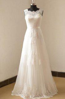 Ivory A Line Lace Wedding Weddig Dress
