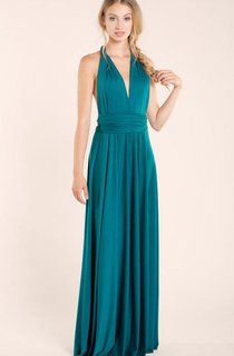 Bridesmaid Infinity Navy Blue Convertible Dress