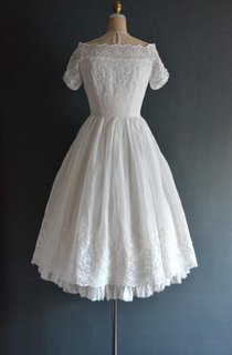 Langley 50S Wedding Short Wedding Dress