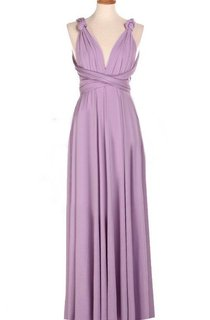 Convertible Pleated Floor-Length Dress