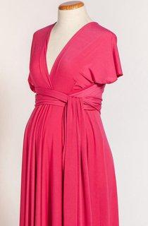 Maternity Jersey Infinity Long Dress