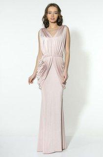 Pleated Elegant Bridesmaids Dresses
