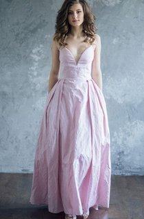 Luxurious Silk Evening Gordelia Dress