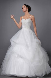 Fabulous Straps Spaghetti Layers Dress With Soft Tulle