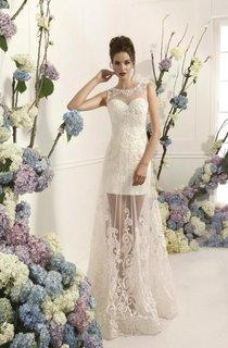 Lace Wedding Long Wedding Romanti