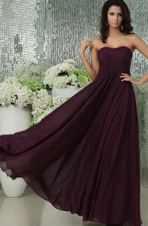 Gorgeous Long Maxi Sweetheart Sleeveless Style Dress With Draping