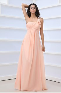 Floral Criss-Cross Draping Dress With Single Strap