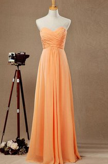 2016 Sweetheart Floor-length Bridesmaid Dress